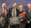 Agnieszka Romaszewska-Guzy z tytułem Europejczyk Roku 2013 miesięcznika Reader's Digest
